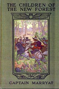 The Children of the New Forest - 1911 book cover.jpg