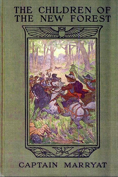 File:The Children of the New Forest - 1911 book cover.jpg