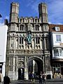 The Christs Church Gate Canterbury - geograph.org.uk - 1040150.jpg
