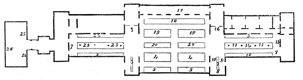 PLAN OF KROLL'S WINTERGARTEN, BERLIN.