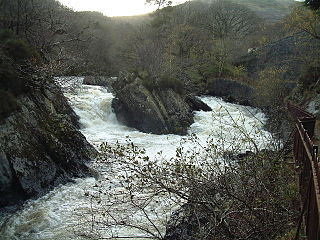 Garbh Uisge river in the United Kingdom