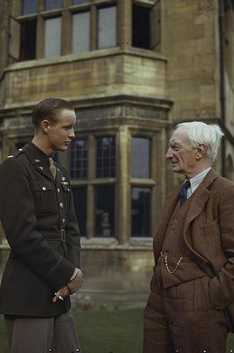 William Beveridge - Beveridge talking to an American fighter pilot hospitalised at University College, Oxford during the Second World War