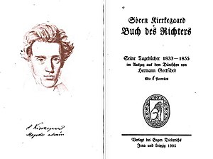 Four Upbuilding Discourses, 1844 - Buch des Richters: Seine Tagebücher 1833-1855 (1905) (The Journals of Søren Kierkegaard)