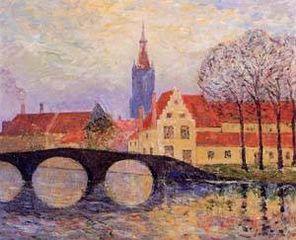 The Leguenay Bridge, Bruges