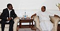 The Minister of Defence, Rwanda, General James Kabarebe calling on the Defence Minister, Shri A. K. Antony, in New Delhi on March 30, 2012.jpg