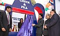 """The Minister of State for Petroleum & Natural Gas Shri Jitin Prasada launching the """"Check & Fill"""" Campaign for ensuring consumer involvement towards delivery of pure and full quantity of petroleum products in New Delhi.jpg"""