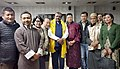 The Minister of State for Tribal Affairs, Shri Jaswantsinh Sumanbhai Bhabhor with the representatives of various Tribal bodies of Sikkim, at Gangtok, in Sikkim on October 25, 2018 (2).JPG