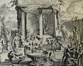 The Phillip Medhurst Picture Torah 500. The tabernacle set up. Exodus 40. Brugghe.jpg