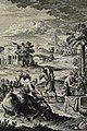 The Phillip Medhurst Picture Torah 532. Purifying clothes. Leviticus cap 11 vv 24-25. Heuman.jpg