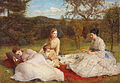 The Picnic by James Archer (1870).jpg