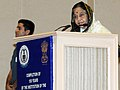 The President, Smt. Pratibha Devisingh Patil delivering the inaugural address at the 150 years celebrations of the Comptroller and Auditor General of India, in New Delhi on November 16, 2010.jpg