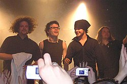 The Rasmus am 18. November 2005 in der Zeche in Bochum