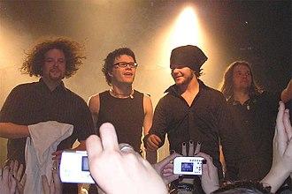 The Rasmus - From left to right: Rantasalmi, Hakala, Ylönen and Heinonen