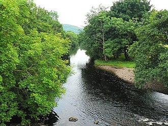 River Add - The River Add near Kilmichael Glassary