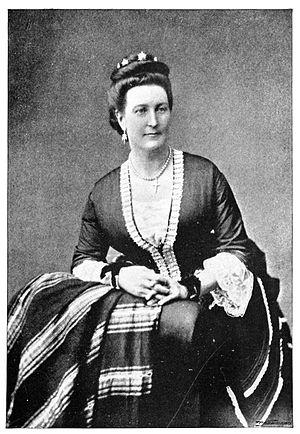 Isabel Burton - Isabel Burton in 1869