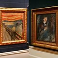 The Scream and the Painter, Edvard Munch at the National Gallery in Oslo (24130397650).jpg