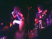A reformed lineup of the Slits perform in November 2006