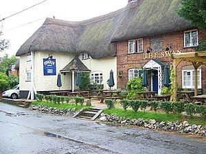 Enford - Image: The Swan Inn, Enford geograph.org.uk 952797