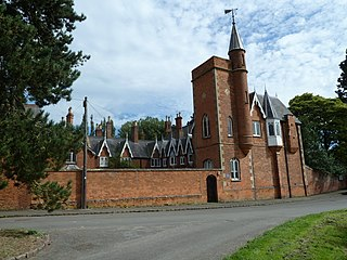 The Tower House, Lubenham grade II listed building in the United kingdom