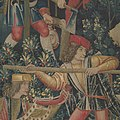 The Unicorn Defends Itself (from the Unicorn Tapestries) MET DP101152.jpg