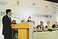 The Union Minister for Communications and Information Technology, Shri Dayanidhi Maran addressing the India – Sweden Business Forum in Chennai, on February 01, 2007.jpg