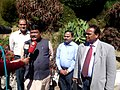 The Union Minister for Tribal Affairs, Shri Jual Oram addressing the media after reviewing the status of Adi Dravidar and Tribals of Tamil Nadu, at Ooty on February 03, 2015.jpg