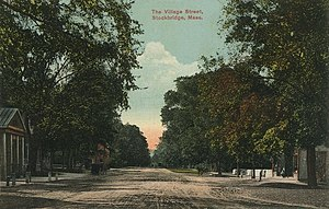 Stockbridge, Massachusetts - Main Street, around 1910