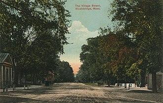 Stockbridge, Massachusetts - Main Street, around 1910