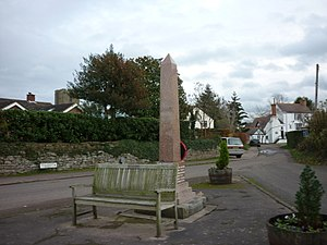 Awre - Image: The War Memorial at Awre geograph.org.uk 2722989