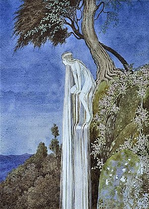 Ida Rentoul Outhwaite - The Waterfall Fairy