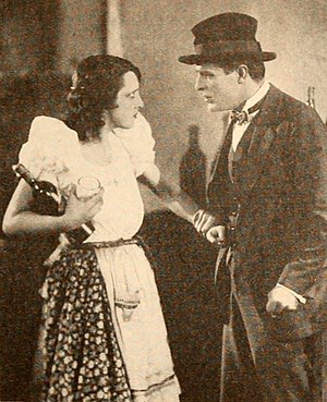 The Whip Woman - Estelle Taylor and Antonio Moreno in a still from the film