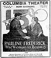 The Woman in Room 13 - April 1920 - newspaper ad.jpg