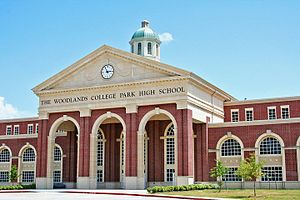 The Woodlands College Park High School - Image: The Woodlands College Park Front Image