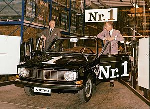 Volvo 140 Series - Image: The first Volvo 144 1966 001