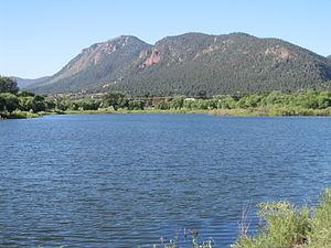 Palmer Lake, Colorado - Image: The lake at Palmer Lake, CO IMG 5177