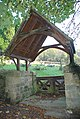 The lych gate to Stoney Middleton cemetery - geograph.org.uk - 592569.jpg