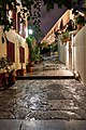 The upper part of Epimenidou Street in Plaka.jpg