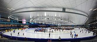 Heerenveen - Thialf, indoor speed skating venue