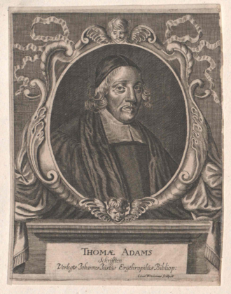 Thomas Adams (priest) - Image: Thomas Adams