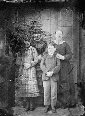 Three women and a boy