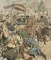 Tibet, Dalai Lama, Le Petit Journal - Thibet-Le Dalaï-Lama de Lhassa fuit la domination anglaise (cropped).jpg