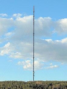 Eurajoen tv masto korkeus