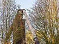 Tijdelijke pijpleidingbrug over de Tramwei in Broek bij Joure 02.jpg
