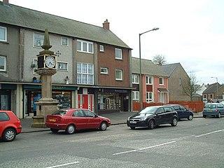 Slamannan village in Falkirk, Scotland, UK