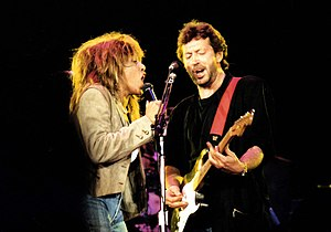 Authenticity in art - Tina Turner and Eric Clapton (1987), both known for authenticity of expression rather than authenticity of tradition.