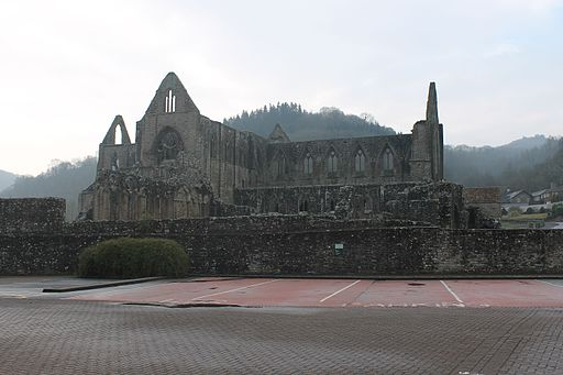 Tintern Abbey Monmouthshire Cymru Wales 01