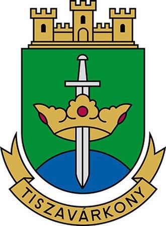 Tiszavárkony - Image: Tiszavárkony címere