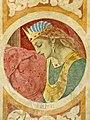 Tita Gori, fresque de l'église San Gervasio à Nimis (Italie) représentant Esther..jpg