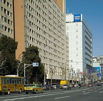 Housing in Japan - A public housing building provided by the government of Tokyo