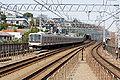 Tokyu Toyoko Line in vicinity of Tamagawa Station.jpg